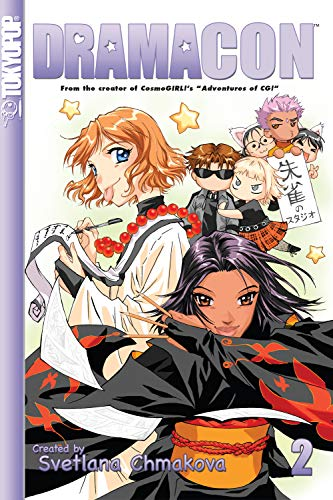 Dramacon manga volume 2 (English Edition)