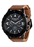 Quiksilver B-52 Chrono Leather - Analogue Watch for Men - Analoge Uhr - Männer