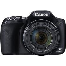 Canon PowerShot SX530 HS Digitalkamera (16,0 Megapixel CMOS, HS-System, 50-fach optisch, Zoom, 100-fach ZoomPlus, opt. Bildstabilisator, 7,5 cm (3 Zoll) Display, Full HD Movie, WLAN, NFC) schwarz