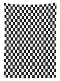 Yeuss Karierten Tischdecke Monochrome Zusammensetzung Klassischen Schachbrett Inspiriert Abstract Tile Print, Esszimmer Küche Tisch, rechteckig, Grau weiß, 132,1x 177,8cm, 60
