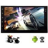 7-Zoll-1024600 Quad Core 2 Din Android 5.1 Touch Screen Auto-Stereo im Schlag GPS-Navigation mit Backup-Kamera-Unterst¨¹tzung BT / WIFI / 3G / SW-Steuerung / Spiegel verbinden, ohne DVD-Player