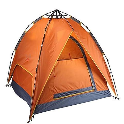 XG 3-4 personnes entièrement automatique tirent des étagères doubles pour construire des tentes de camping UV