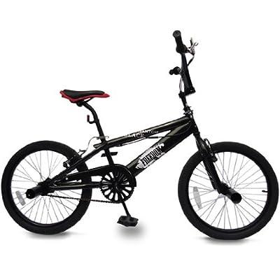 BMX 20 Zoll | 360° Rotor-System, Freestyle, 4 Stahl Pegs, Kettenschutz | Fahrrad, Bike, Bicycle, Kinderfahrrad, Jugendfahrrad, Street, Park, Rad
