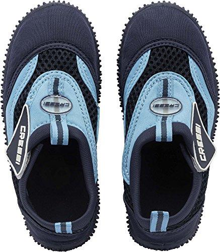 Coral Bambini Scarpette Unisex Cressi Azzurro Blu Mare Junior 4wBvavxq