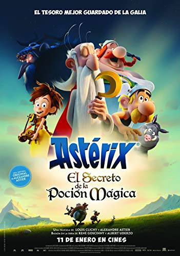 Astérix: El Secreto De La Poción Mágica [Blu-ray]