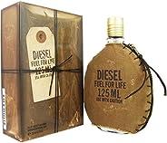 DIESEL Masculino Fuel For Life Eau de Toilette For Men, 125 ml