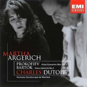 Prokofiev: Piano Concerto 1, 3; Bartok: Piano Concerto 3