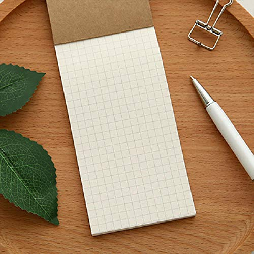 Leder Reisemagazin Personal Manager Kraftpapier Gitter Notizblock Tagebuch -