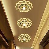 3W LED lampada da soffitto acrilico creative Crystal lampada da soffitto Marce Corridoio Faretto da parete comodino lampade luce ffekt Lichter–FARETTO INCASSO integrati lampada da parete ferro Ø20cm
