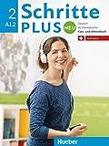 Schritte plus Neu 2 – Schweiz: Deutsch als Zweitsprache / Kursbuch + Arbeitsbuch mit Audio-CD zum Arbeitsbuch