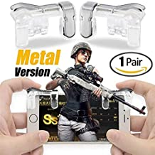 Geeky PUBG Mobile Game Controller, Metal (Android & iOS Phones)