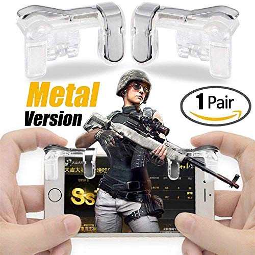 [Get Discount ] Geeky PUBG Mobile Game Controller, Metal (Android & iOS Phones) 51dIaHJRVlL