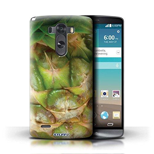 Kobalt® Imprimé Etui / Coque pour LG G3/D850/D855 / Melon d'eau conception / Série Fruits Ananas