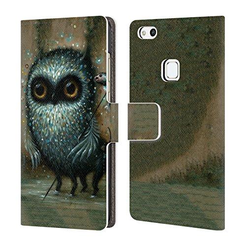 Head Case Designs Offizielle Jason Limon Jagd Aliens Brieftasche Handyhülle aus Leder für Huawei P10 Lite