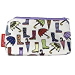 Selina-Jayne Wellies & Brollies Designer Limited Edition Cosmetic Bag