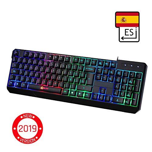 ⭐️KLIM Chroma   Teclado Gaming ESPAÑOL   USB