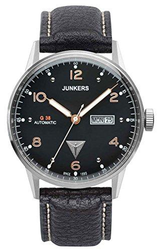 Junkers Reloj Analógico para Hombre de Automático con Correa en Cuero 69665