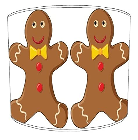 Premier Lampshades - 12 Inch Ceiling Gingerbread Man Childrens Lampshade1