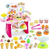 #1: Cartup Kids Mini Super Market 34 Pcs, Supermarket Pretend Play Toy