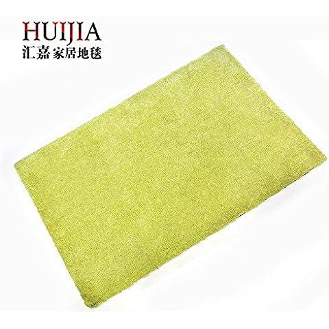 WSLOVEHHY Microfibra di poliestere assorbente morbido soggiorno Rug antiscivolo tappetino