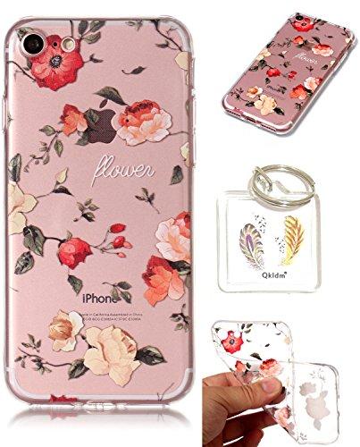 iPhone 7G / 8G étui de téléphone mobile / TPU protection transparente cas de téléphone de bande dessinée Apple iPhone 7G / 8G (4,7 pouces)couvercle transparent - porte-clés cadre (* / 24) (10)
