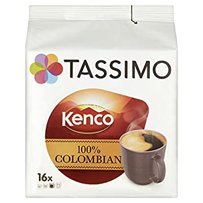 TASSIMO Kenco Colombian 16 Capsules (Pack of 5, Total 80 Capsules) from Kraft Foods