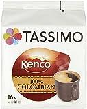 TASSIMO Kenco Colombian 16 Capsules (Pack of 5, Total 80 Capsules)