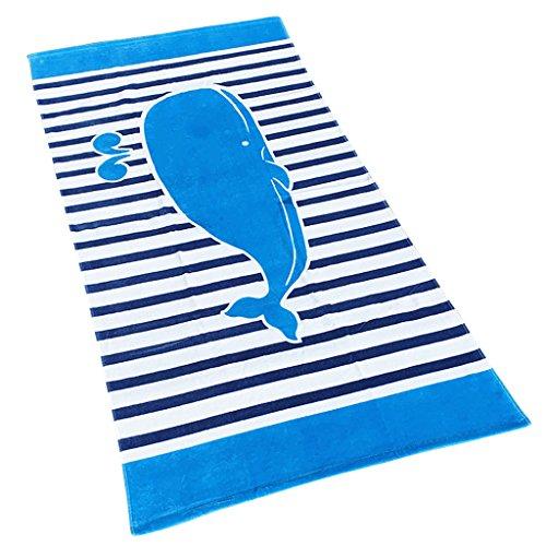Jungen Mädchen Kinder Badetuch - Kinder 100{8866bb23f67593d89d97aa73deb058a7f9ee57ada9595769822262ea4aa6d3a5} Baumwolle Sport Handtuch Cartoon Decke Schwimmen Surfen Wandern Reisen