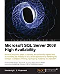 With clear step-by-step instructions, various real world examples, and plenty of screenshots, this book provides all the support and guidance you will need as you begin to install various SQL Server HA options. If you are an SQL Server developer, or ...