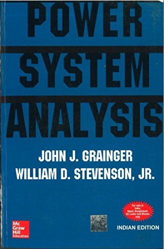 Power System Analysis by Grainger (1994) Paperback