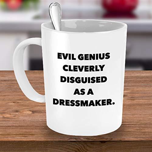 Lustige Kaffeebecher, personalisierbar, Geschenkidee für Schneidersticher, Sticktuch, Anzug, Kostüm, 312 ml
