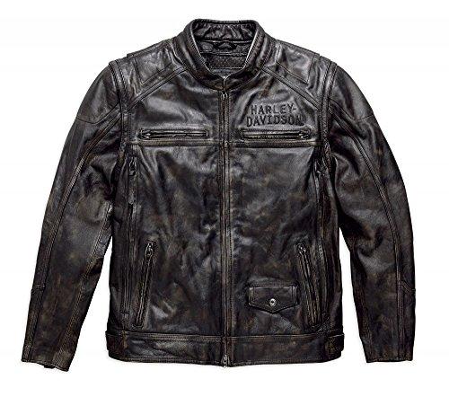 Harley-Davidson Lederjacke Ironwood Size XXL Herren Harley Davidson Leder Weste