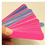 EQLEF® 20 Stück DIY Nagelfeile Schleifen Puffer für Salon Maniküre, doppelseitig Nagellack Dateien Tool