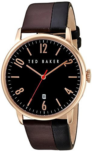 Montre TED BAKER Cuir - Homme - 42x48mm