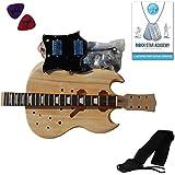 Stretton Payne - Kit SG Guitare Electrique à Assembler Soi-Même