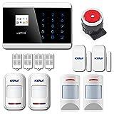 KERUI 8218G Alarme Maison sans Fil Téléphonique GSM RTC Anti Intrusion,...