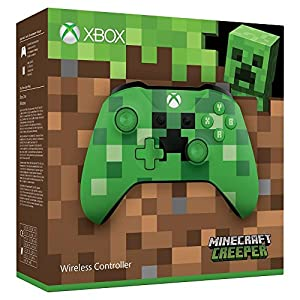 Mando Inalámbrico: Edición Limitada Minecraft Creeper - Xbox One