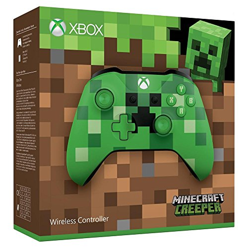 Xbox One: Controller Wireless Minecraft, Verde -...
