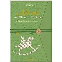 Briefbuch – Advent mit Theodor Fontane: 24 Gedichte und Aphorismen