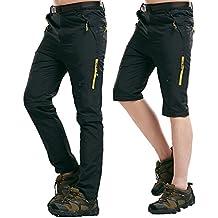 bb53f35d66 Amazon.it: pantaloni da trekking con zip
