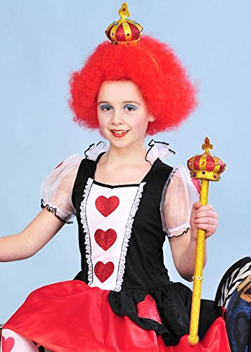 Kinder der Königin der Herzen-Stil-Krone und Zepter-Kit (Königin Der Herzen Zepter)