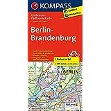 Berlin-Brandenburg: Großraum-Radtourenkarte 1:125000 (KOMPASS-Großraum-Radtourenkarte, Band 3703)