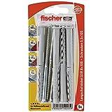 Fischer 52205 Lot de 5 Chevilles pour ossatures/cadres SXR 8 x 100 mm Z K