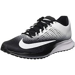 Nike Wmns Air Zoom Elite 9, Zapatillas de Trail Running para Mujer, Negro (Black/White/Cool Grey 001), 37.5 EU