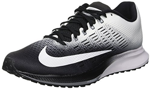 Nike Wmns Air Zoom Elite 9, Zapatillas de Trail Running para Mujer, Negro (Black/White/Cool Grey 001), 37.5 EU