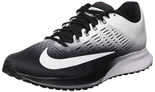 Nike Damen Air Zoom Elite 9 Laufschuhe, Mehrfarbig (Blackwhitecool Grey 001), 36.5 EU - Elite 9