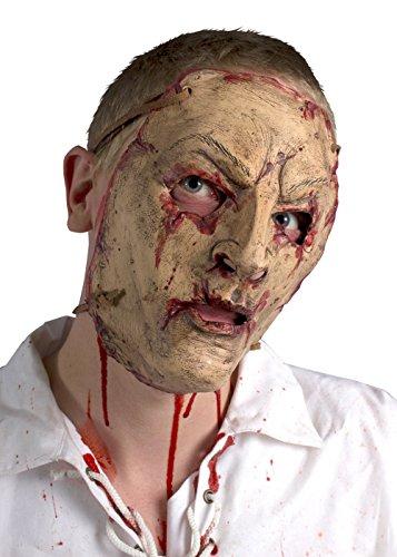 Schaurige Elfen Trophäenmaske LARP-Maske Krieger Fantasymaske Fasching Kostüm