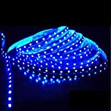 Riflection Decorative Self Adhesive 5 Metre Led Strip Light (Blue Colored Light) LowPrice Festival Decoration Light LED With Driver.