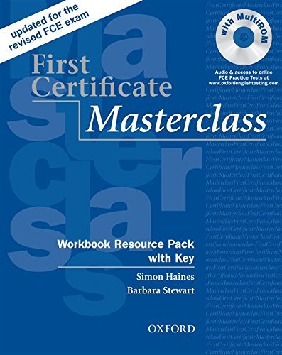 First Certificate Masterclass: Workbook Resource Pack with Key by Simon Haines (2008-09-15)