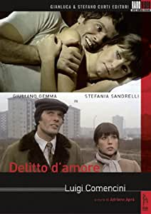 Delitto D'Amore (Dvd singolo)